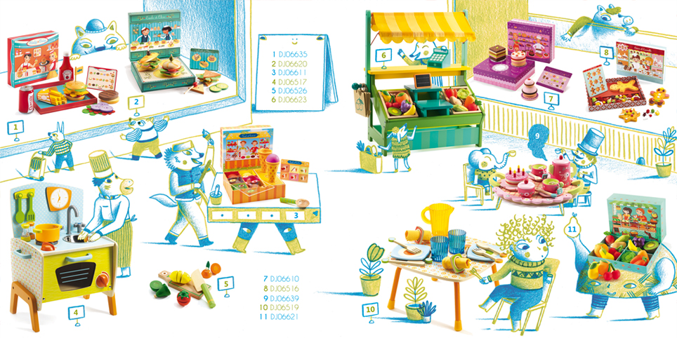 Djeco catalogue illustré