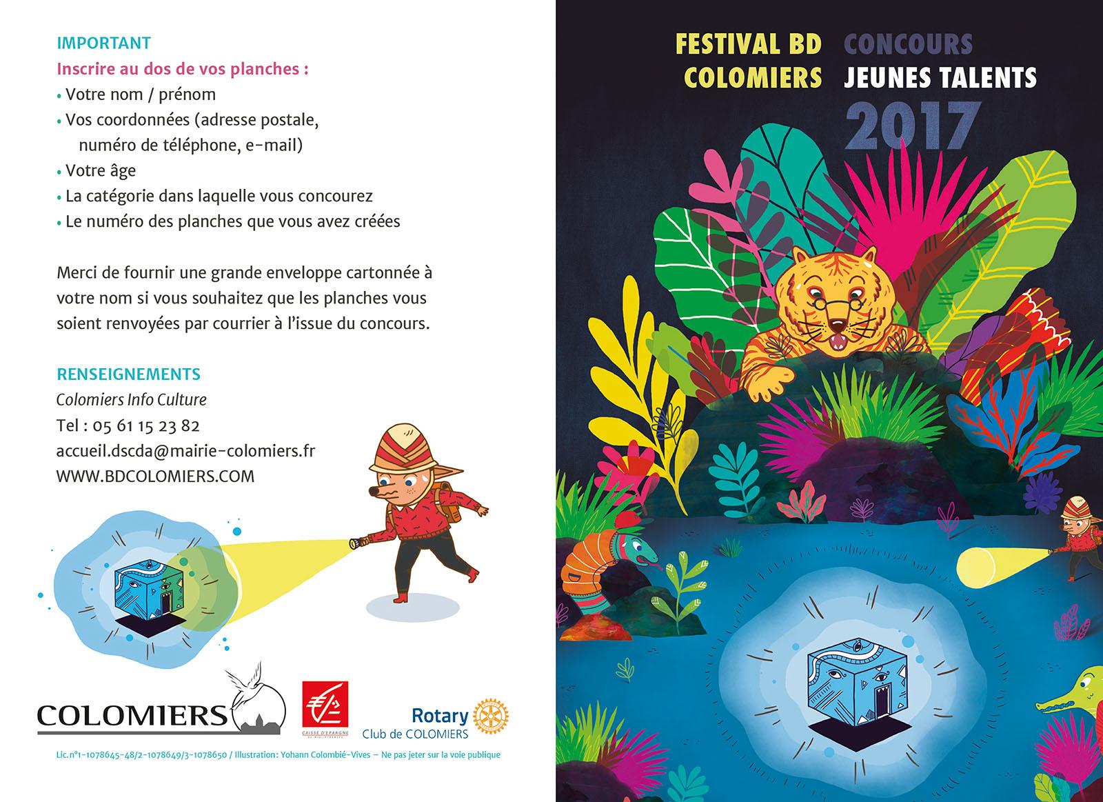 Festival BD Colomiers 2