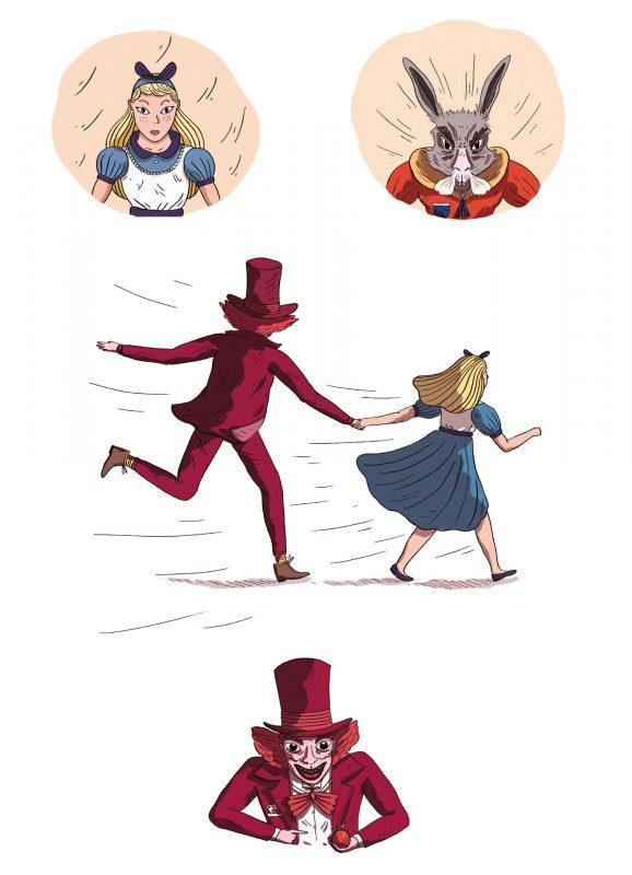 Illustration Escape piégé dans les contes 2